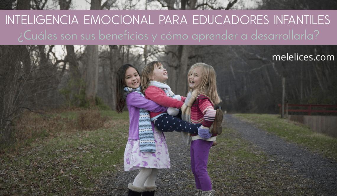 inteligencia emocional para educadores infantiles portada
