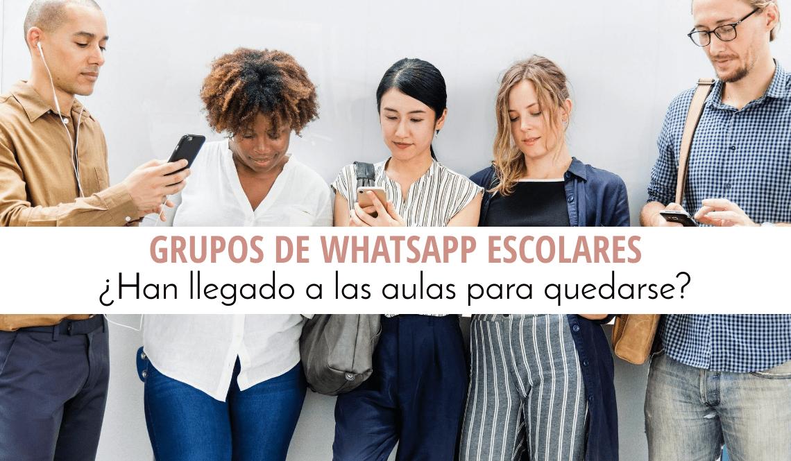 grupos de WhatsApp escolares