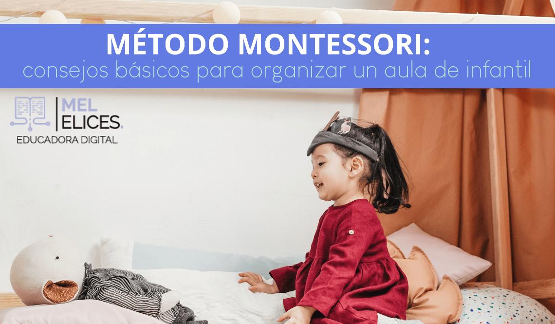 organizar aula Método Montessori