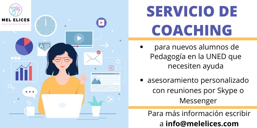 servicio de coaching para estudiantes UNED